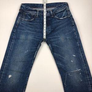Levi's Jeans - Levi's Sample 501 High Waist Distressed Jeans